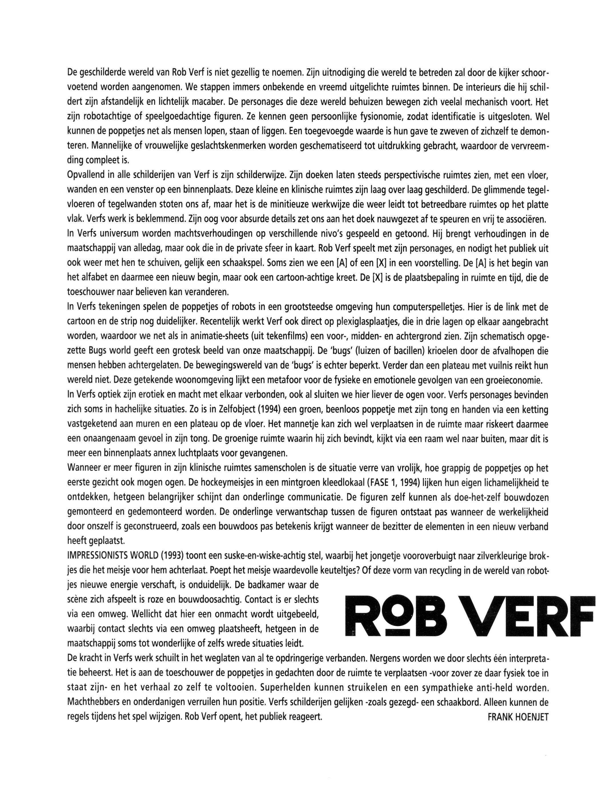 Rob Verf Gemeentemuseum Helmond